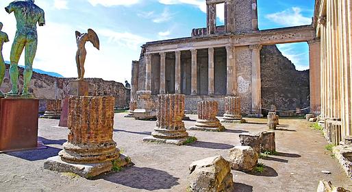 HP Travel - Semi-private tour of Pompeii & Mt. Vesuvius from Naples
