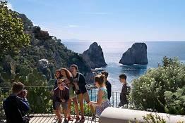 Capri e Anacapri, tour guidato da Roma