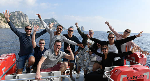 HP Travel - Capri: Boat Tour from Naples/Area