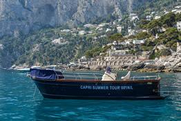 Boat Tour of the Amalfi Coast from Capri