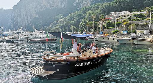 Capri Summer Tour - Tour in barca in Costiera Amalfitana, partenza da Capri