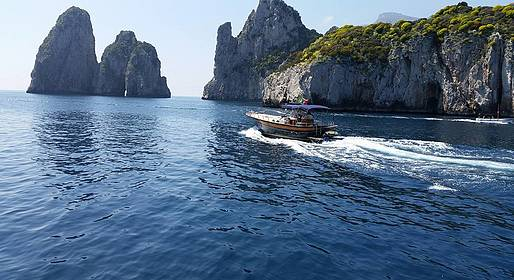 MBS Blu Charter - Capri: Private Boat Tour