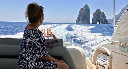 Positano Luxury Boats  - Half-day Boat Tour of Capri from Positano