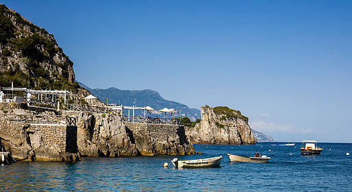 Capri Summer Tour - Boat Tour of Capri + Stop at La Conca Del Sogno