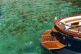 Boat Tour of Capri + Stop at La Conca del Sogno