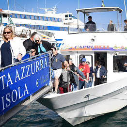 HP Travel - Capri, giro in barca con Grotta Azzurra: open ticket