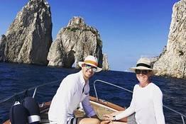 Tour privato in barca a Capri e Positano