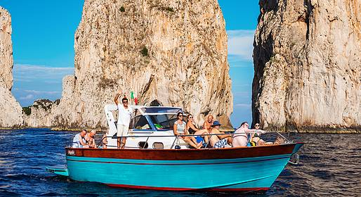 Buyourtour - Capri Boat Tour with Pick-up from Amalfi