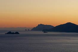 Sunset Boat Tour to the Li Galli Islets