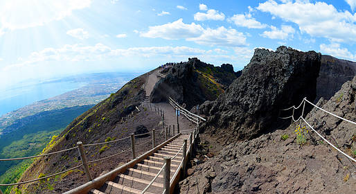 WorldTours - Mt. Vesuvius Tour with Wine Tasting - From Pompeii