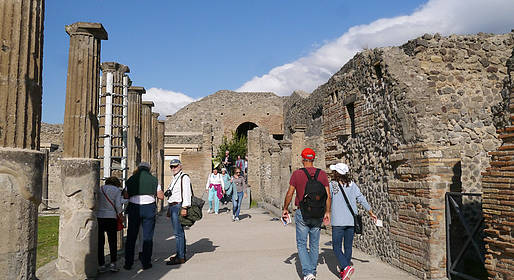 WorldTours - Pompeii Tour Departing from Salerno