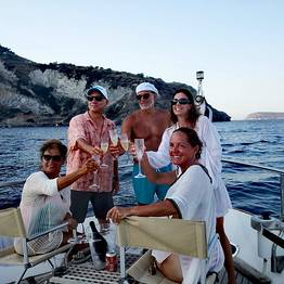 Pèpecello Yacht Tours - Full-Day Boat Tour to Sorrento from Naples