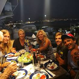 Pèpecello Yacht Tours - Sunset Cocktail and Dinner Sail in the Bay of Naples