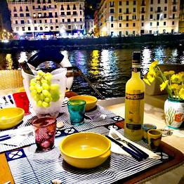 Pèpecello Yacht Tours - Dinner on Board at the Foot of Naples' Castel dell'Ovo