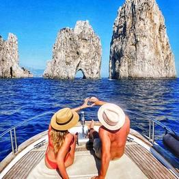 Misal Sorrento Boat Charter - Capri and Positano Classic Tour 100% Italian Style