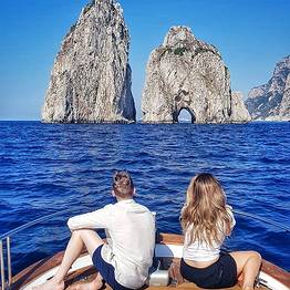 Misal Sorrento Boat Charter - Capri and Nerano Tour via Itama 40 Speedboat