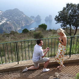 Nesea Capri Tour - Will you marry me? On Capri the answer will be yes !