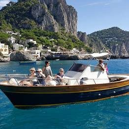Lubrense Boats - Breathtaking Capri Private VIP Cruise (8 Hours)