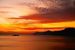 Sunset tour privato in barca in Penisola Sorrentina