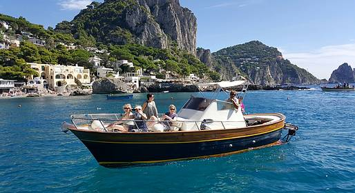 Lubrense Boats - Gems of Southern Italy: Capri and Positano in One Day