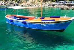 Tour of Capri on a Gozzo from Marina Piccola