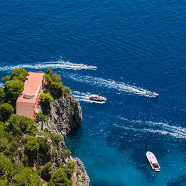 Capri Day Tour - Villa Malaparte