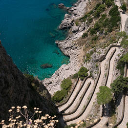 Capri Day Tour - Via Krupp