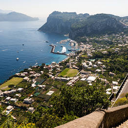Capri Day Tour - Panorama da Villa San Michele