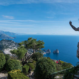 Capri Day Tour - Monte Solaro
