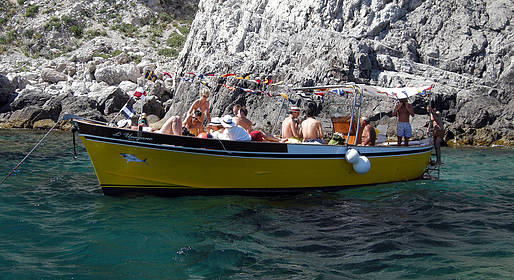 Capri Whales - Small-Group Capri Boat Tour w/Swim