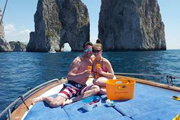 Mind-Blowing Capri Tour with Prosecco!