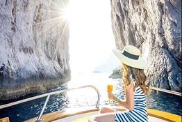 Capri, giro in barca di un'intera giornata
