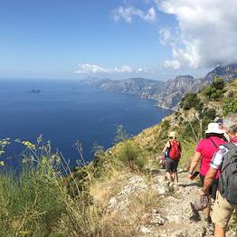 Cartotrekking - Path of the Gods: Roudtrip from Sorrento with transfer