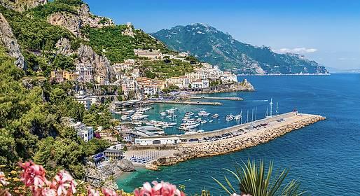 Eurolimo - Traslado de luxo Nápoles -  Amalfi