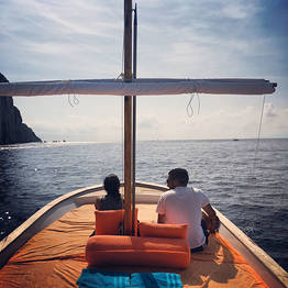 Capri Island Tour - Sunset Sail with Cocktails beneath the Faraglioni