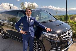 Private transfer con luxury Mercedes da Napoli