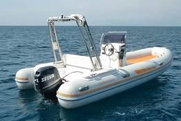 Full-Day, 40 HP Dinghy Rental on Capri