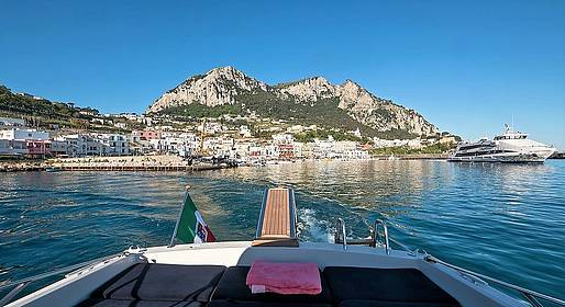 Capri Relax Boats - Taxi + speedboat + car from Capri to Ravello or back
