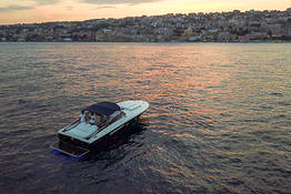 Luxe Full-Service Transfer Naples-Capri: Itama+Mercedes