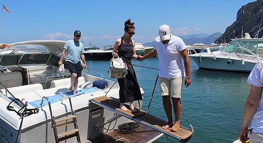 Capri Boat Service - Transfer Capri - Positano by Speedboat