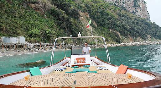 Bagni di Tiberio - A Boat Tour of the Amalfi Coast