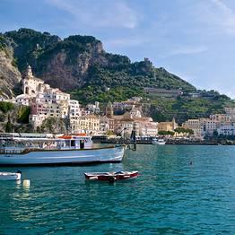 Bagni di Tiberio - Giro dell'isola + escursione a Positano e Amalfi