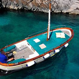 Capri Boat Service - Boat Tour of Capri by Luxury Gozzo from Positano/Amalfi