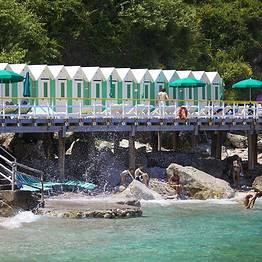 Bagni di Tiberio - Giro dell'isola + Ristorante + Spiaggia: tutto compreso