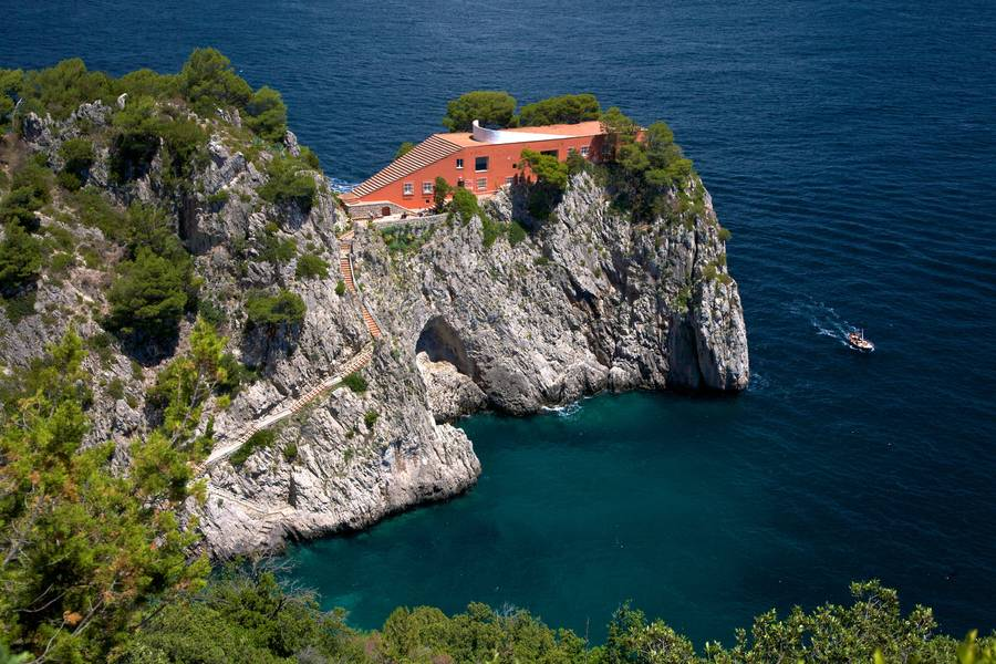 Villa Malaparte, Part Legend and Part Cinema