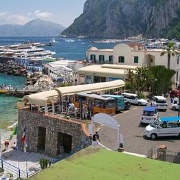 In crociera a Capri