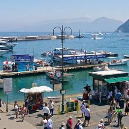 Em um cruzeiro para Capri