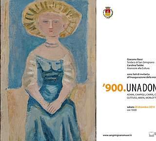'900 Exibition in San Gimignano Hotel