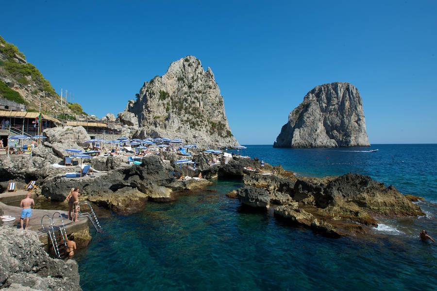 Beaches on Capri - Nature - Capri