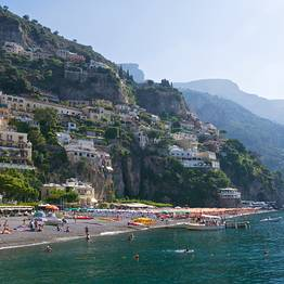 As praias da Costa Amalfitana
